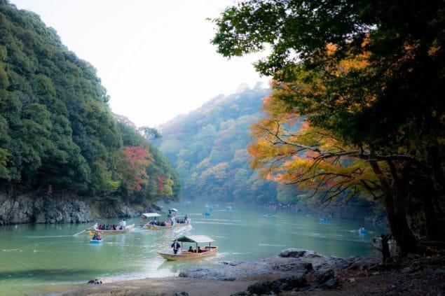 Hozugawafloden, Arashiyama