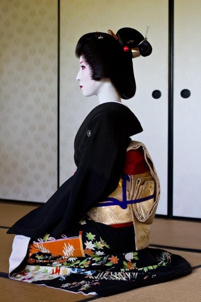 En Kyoto-geisha vid namn Kimiha