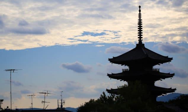 Kyoto-siluett