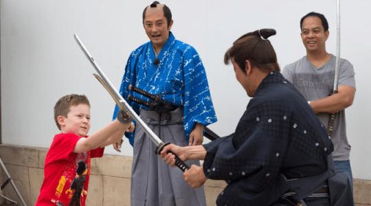 Samurajfajt 540×300