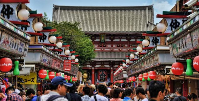 Sensoji-templet, Asakusa, Tokyo