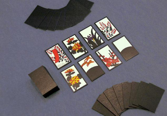 Hanafuda-kort, tryckta av Nintendo