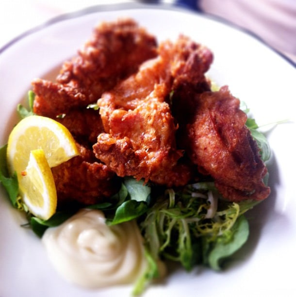 Karaage - friterad kyckling
