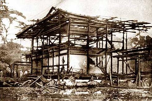 Paviljongen efter branden (1950)
