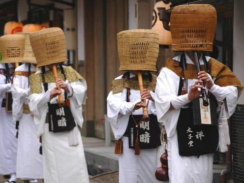 Moderna komuso i Tottori