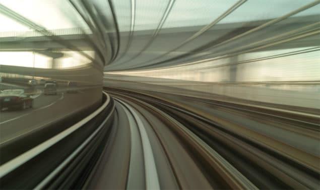 Ombord det förarlösa tåget